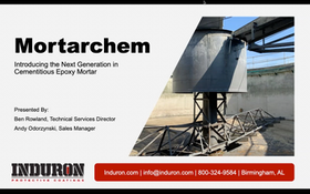 Induron Introduces Mortarchem: The Next Generation of Cementitious Epoxy Mortar