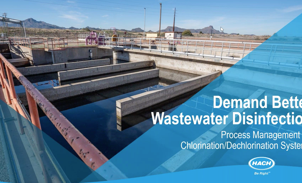 Webinar: Demand Better Wastewater Disinfection!