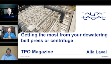 Optimizing Your Dewatering Belt Press or Centrifuge to Reduce Operating and Maintenance Costs