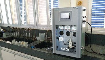 Color Monitoring in Water Treatment Plants