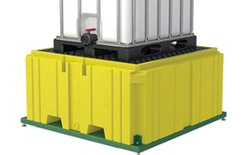SpillSafe IBC Tote Scale Monitors Chemicals, Offers Spill Containment