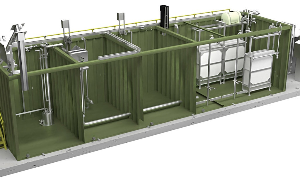 Factory-Built Membrane Bioreactor Packages Suited for Small Flows