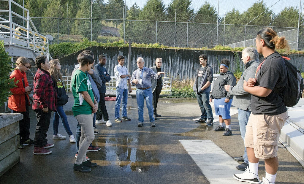 A Utility District and School District Join Forces to Promote Water Careers to High School Students