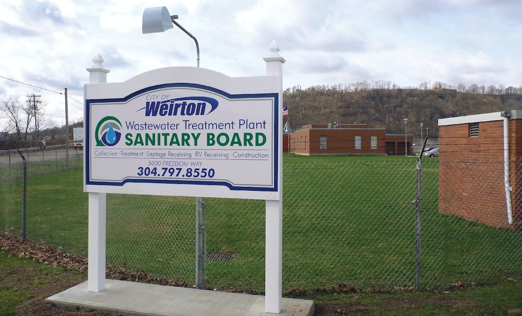 Operators Collaborate With a Professional Designer on a Treatment Plant Welcome Sign