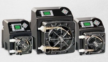 Metering Pumps Suited for Wide Range of Chemicals