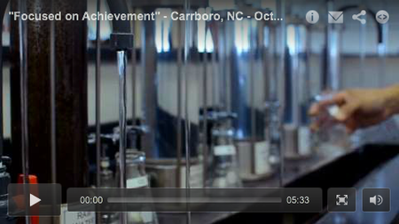 """Focused on Achievement"" - Carrboro, NC - October 2013 WSO Video Profile"