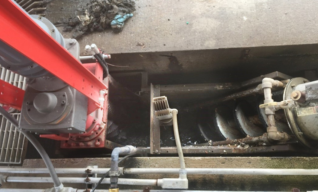 Twin-Shaft Grinder Becomes a Drop-in Solution for Septage Receiving