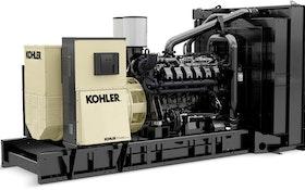 Kohler introduces large diesel industrial generator line