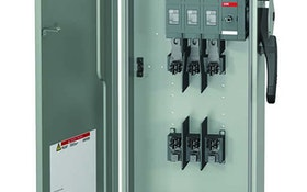 Control/Electrical Panels - ABB heavy-duty safety switch