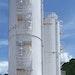 Bins/Hoppers/Silos - Acrison Dual Dry Bulk Chemical Storage Silos