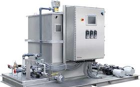 Acrison liquid polymer feed system