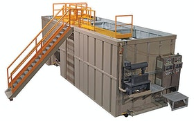 Centrifuge/Separator - Active Water Solutions submerged fixed-bed biofilm reactor