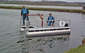 Utility barges from American Pleasure Products provide operator stability