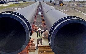 Agru America AGRULINE large-diameter HDPE pipes