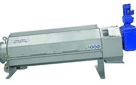 Belt Filter/Rotary Presses - Moderate-speed screw press