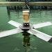 Aqua-Aerobic self-deploying segmented float