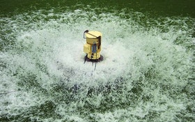 Aqua-Aerobic surface mechanical aerator