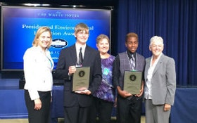 Students Honored for Arsenic Research