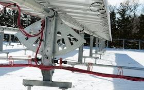 This Treatment Plant's Solar Power System Follows the Sun to Maximize Kilowatt-Hour Production