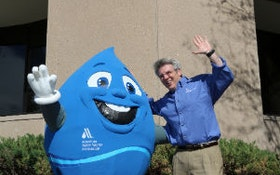What's Blue, Round and Popular At Water Events? That Would Be Eddy