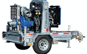 Dewatering/Bypass Pumps - BBA Pumps BA150E Trailer Pump Package