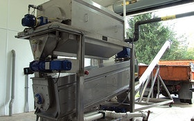 Belt Filter/Rotary Presses - High solids-capture screw press