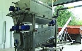 Belt Filter/Rotary Presses - Pre-thickening screw press