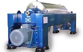 Beckart Environmental decanter-, disc-style centrifuges