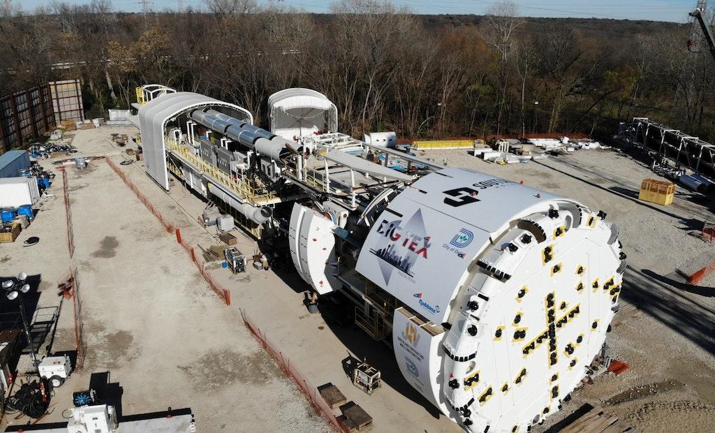'Big Tex' to Bore 5-Mile Tunnel to Alleviate Dallas Flooding