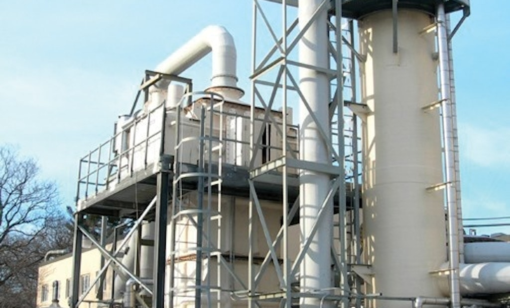 Bionomic Industries Offers Series 5000 Packed Tower Scrubbers