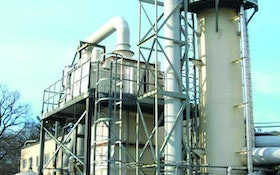 Bionomic packed tower scrubbers