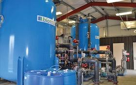 AdEdge's biottta system treats contaminants through microbial digestive process