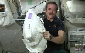 Astronaut Explains Drinking Water in Space