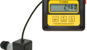 Blue-White Industries Offers Digital Flowmeter with Analog Output