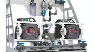 Chemical Feed Pumps - Blue-White Industries CHEM-FEED Engineered Skid Systems