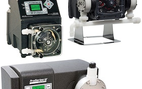 Metering pumps offer energy efficiency for water and wastewater treatment