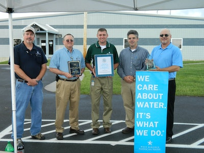 West Virginia water plants tie for first place with best-tasting drinking water