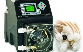 Blue-White peristaltic metering pump
