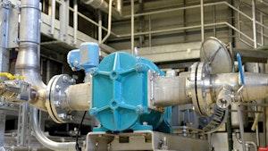 Biosolids Handling/Hauling/ Disposal/Application - Boerger BLUEline Rotary Lobe Pump