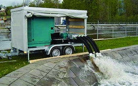 Dewatering/Bypass Pumps - Boerger Mobile Rotary Lobe Pump