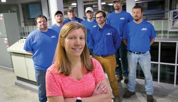 This Illinois Operator Reaches Out Globally on Behalf of Women in the Water Professions