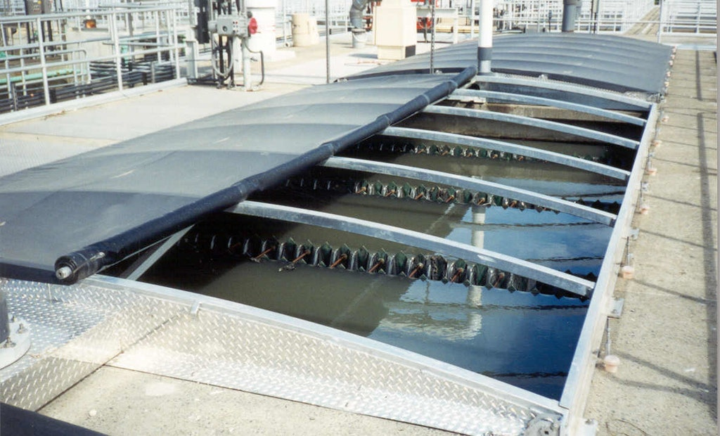 Bridgeport Chooses Retractable Cover to Fight Odors