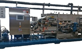 Belt Filter/Rotary Presses - Bright Technologies, Div. of Sebright Products Inc., belt filter press