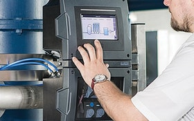 Analytical Instrumentation - Burkert Fluid Control Systems Type 8905 Online Analysis System