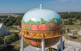 A Water Tower Memorializes an Iconic Story in Children's Literature and Popular Culture