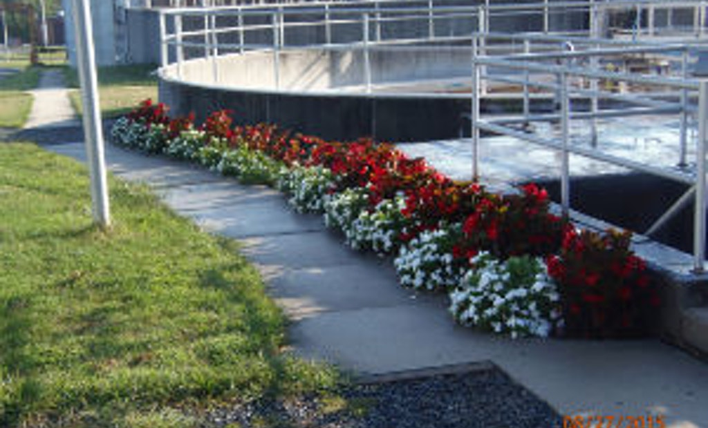 Green Thumb Operator Adds Gardens to Treatment Plant