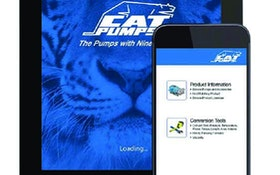 Cat Pumps mobile phone product app