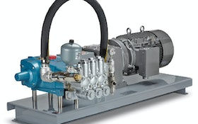 Dewatering/Bypass Pumps - Cat Pumps stainless steel triplex pumps