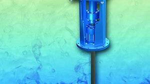 Mixers - Wastewater treatment mixer