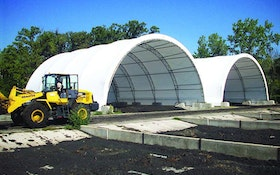 ClearSpan fabric building structures